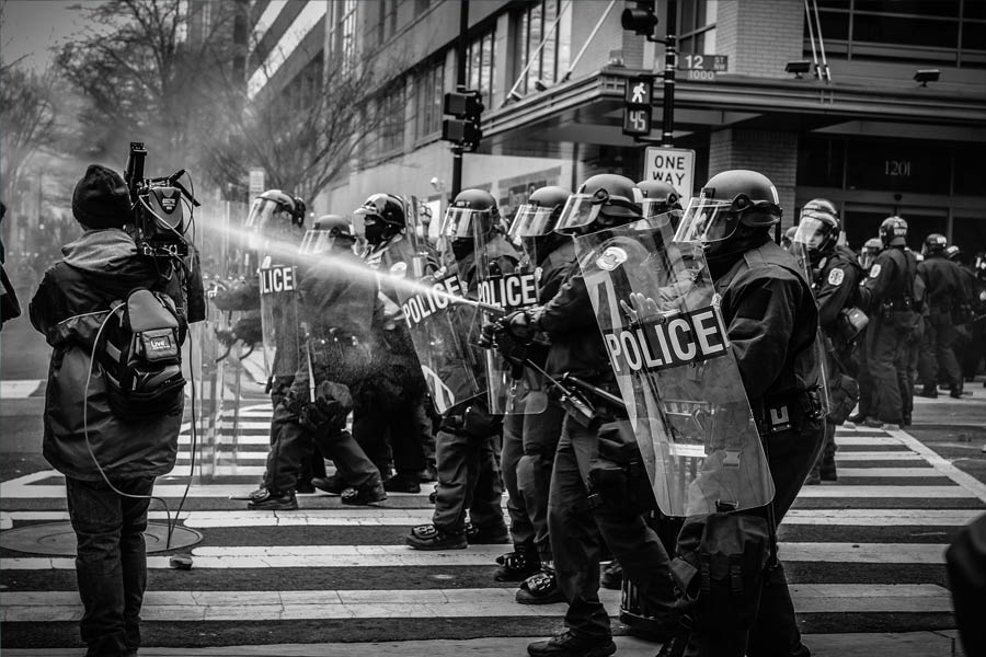 Police Protest